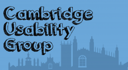 Cambridge Usability Group Logo in Blue
